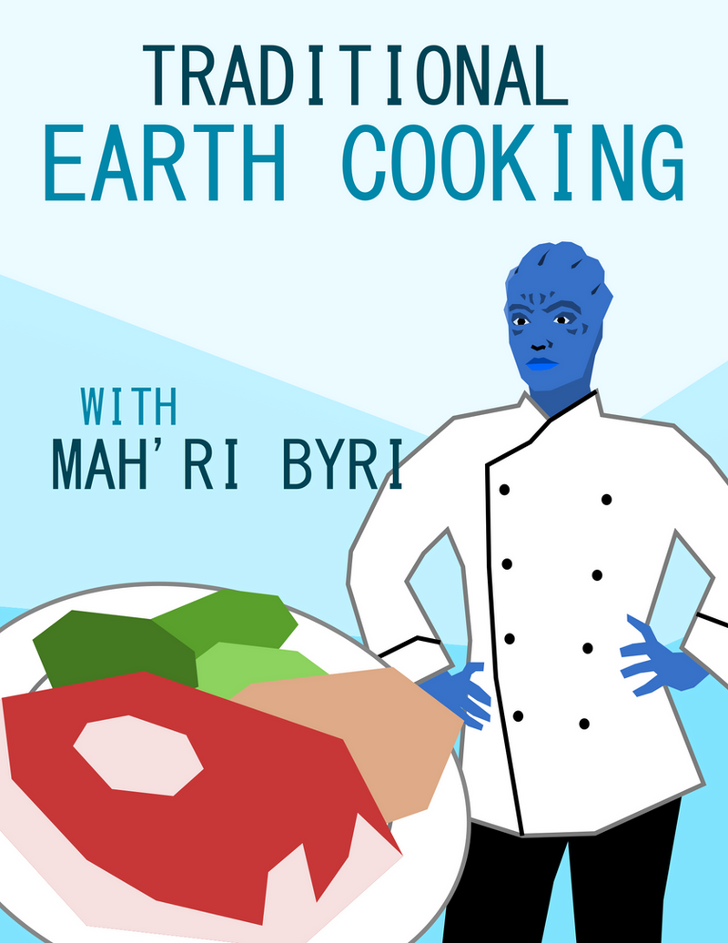 Traditional Earth Cooking | Cookery Book Cover by Miltonholmes