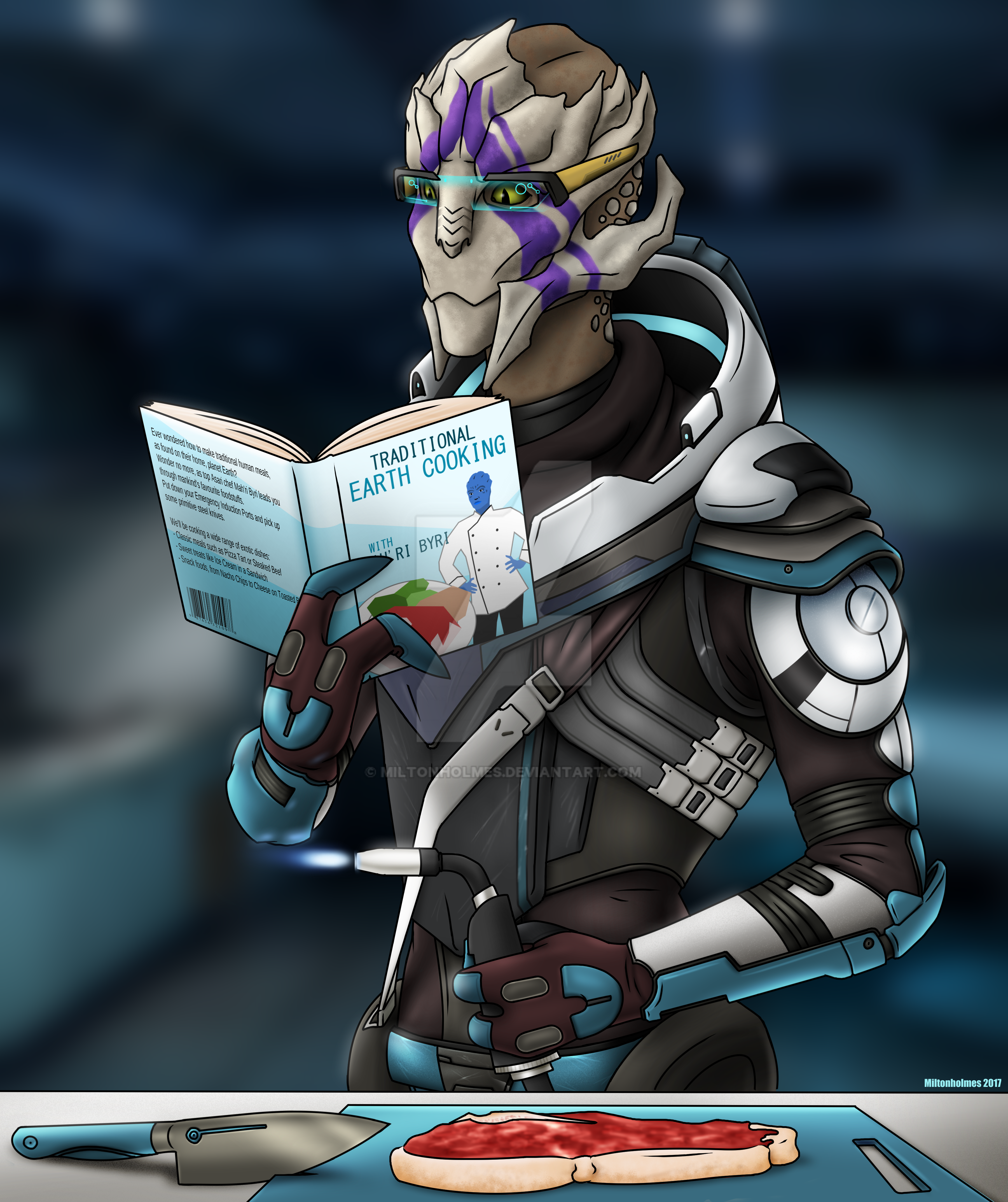 Vetra Tries Cooking by Miltonholmes