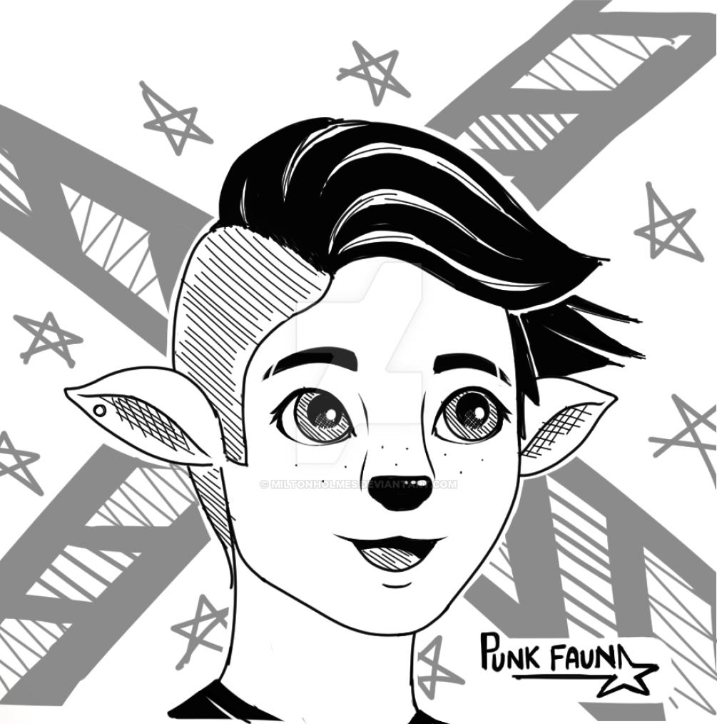 Punk Faun by Miltonholmes