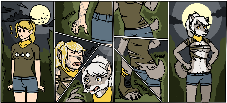 Spooktober Werewolf Transformation | Rough by Miltonholmes