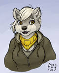 Willow in a Hoodie