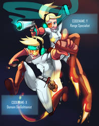 The Function Duo by TheSketchyDot
