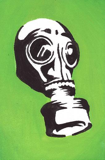 Gas mask by Maty03
