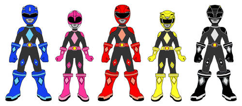 Mighty Morphin Power Rangers X