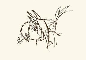 Amidamaru x Mosuke (Shaman King)