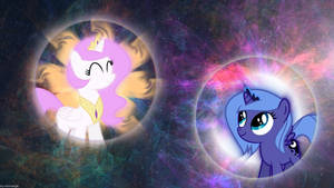 Wallpaper - Filly Sisters