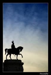 Silhouette in Rome 01 by frescendine