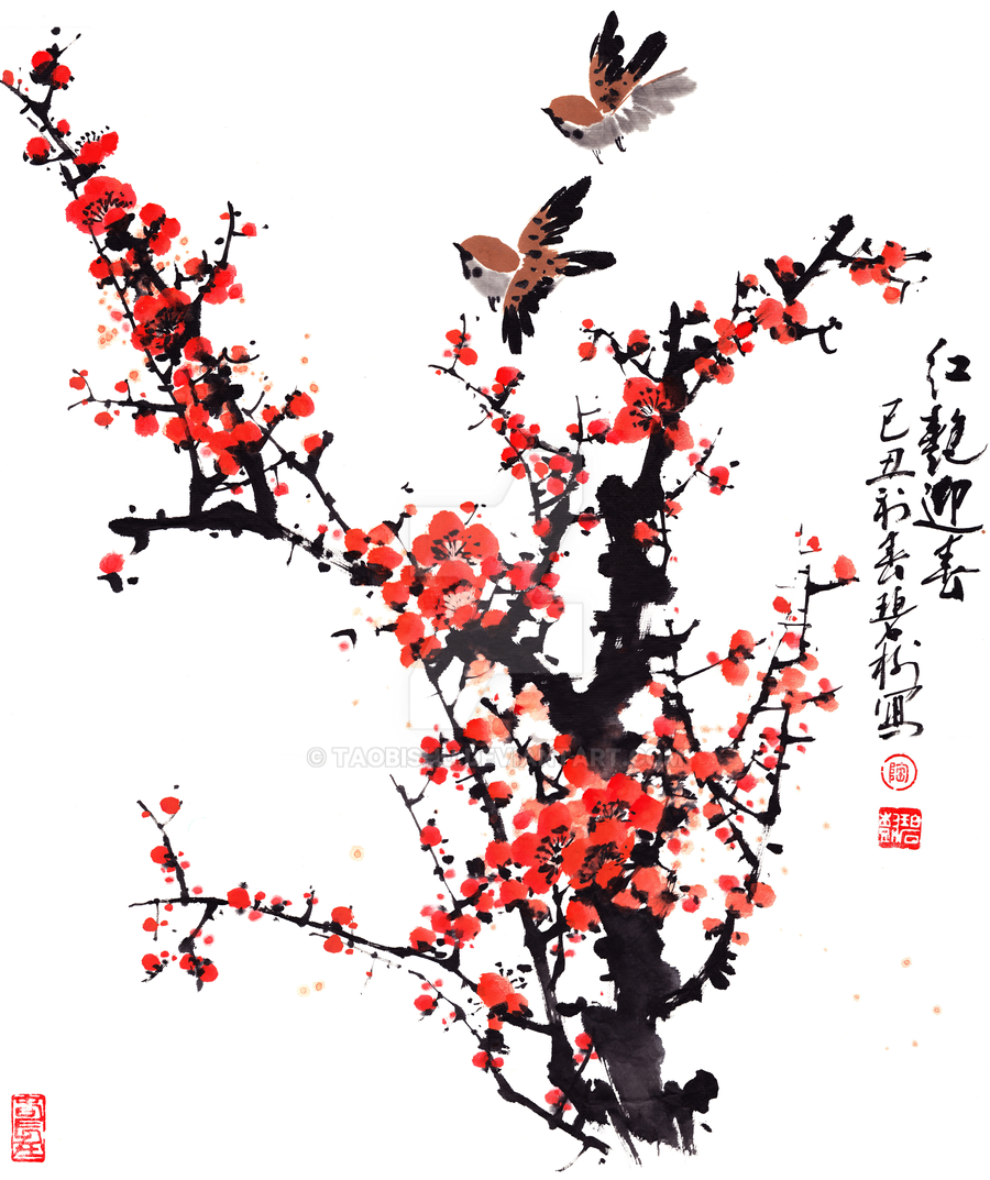 Chinese Brush Paintings Of Dogs