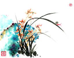 Orchid by TaoBishu