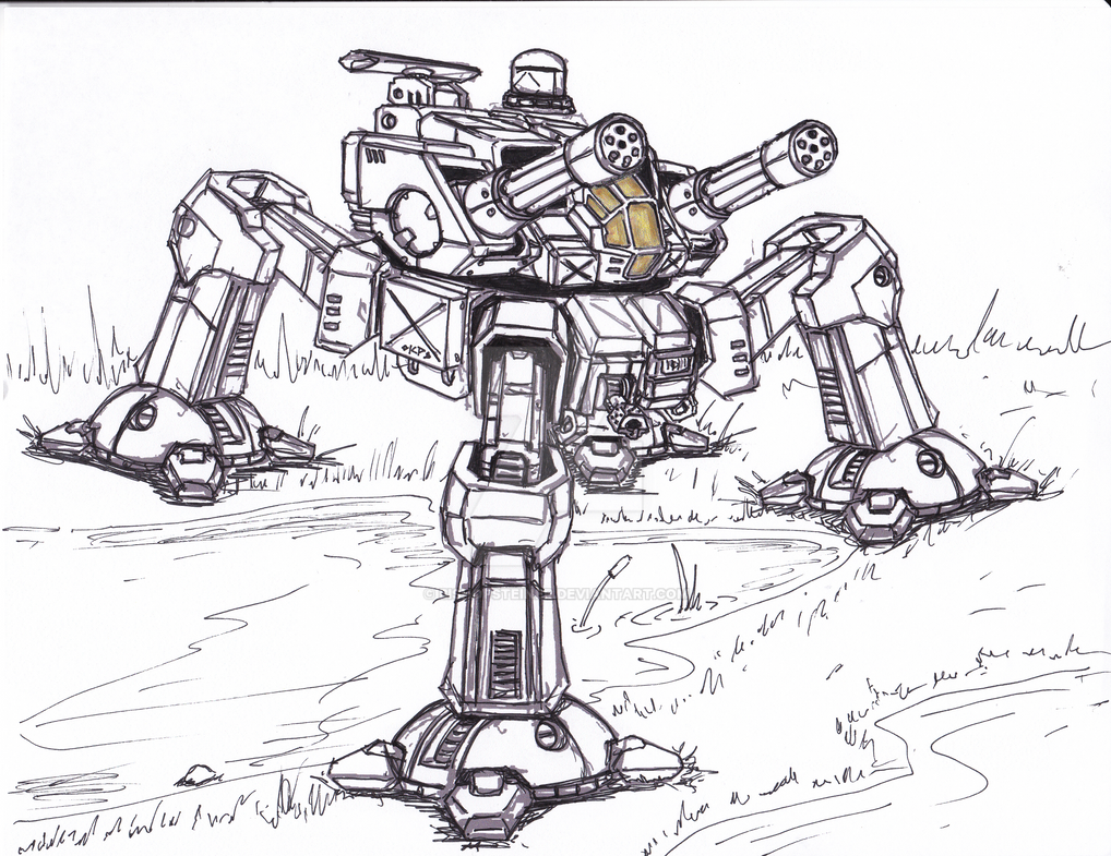 I Want To See Your Mech Art