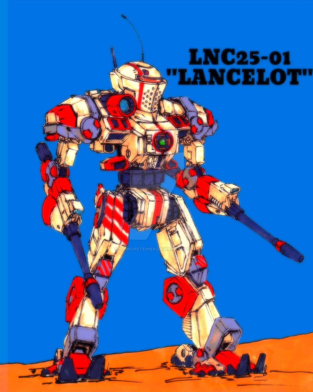 LNC-25-01 Lancelot by BishopSteiner