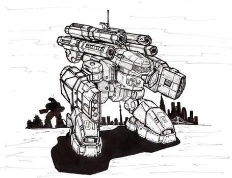 KJU-1A Kaiju Battlemech