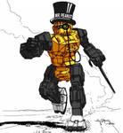 Mr Peanut Commando by BishopSteiner