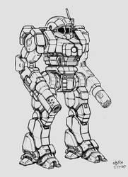 Enforcer (Battletech Clan Invasion Kickstarter)