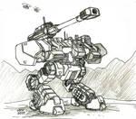 Blitzkrieg Mobile Howitzer