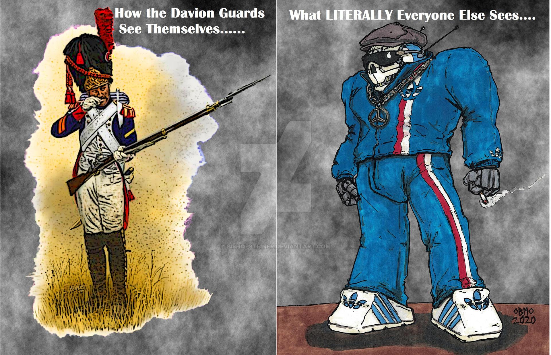 Davion Heavy Guards, Dawg!