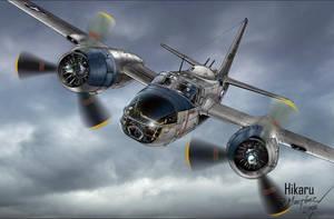A-26 Invader Korea by Hikaru84