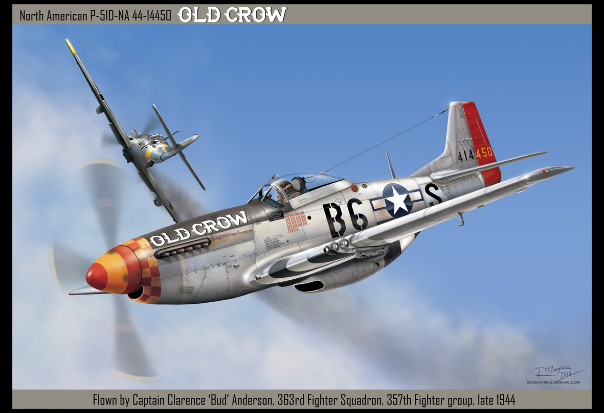 P 51d Old Crow By Hikaru84 On Deviantart