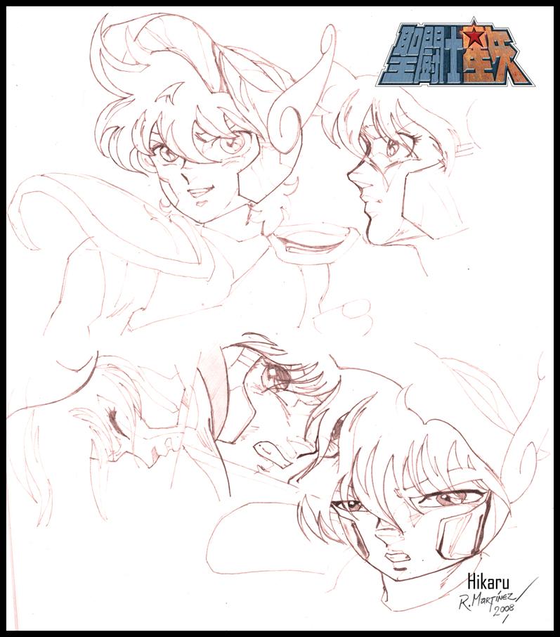 Seiya Study by Hikaru84