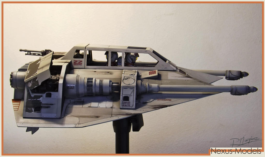 Nexus-Models 1/18th Scale Snowspeeder (Resin Kit) by Hikaru84
