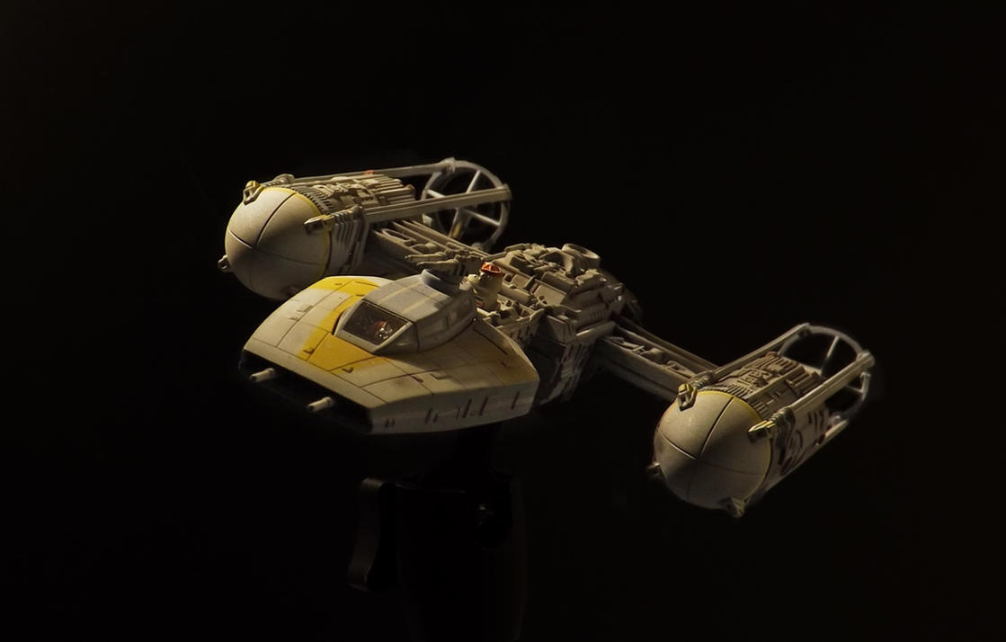Y Wing 1 72 Revell Model Kit By Hikaru84