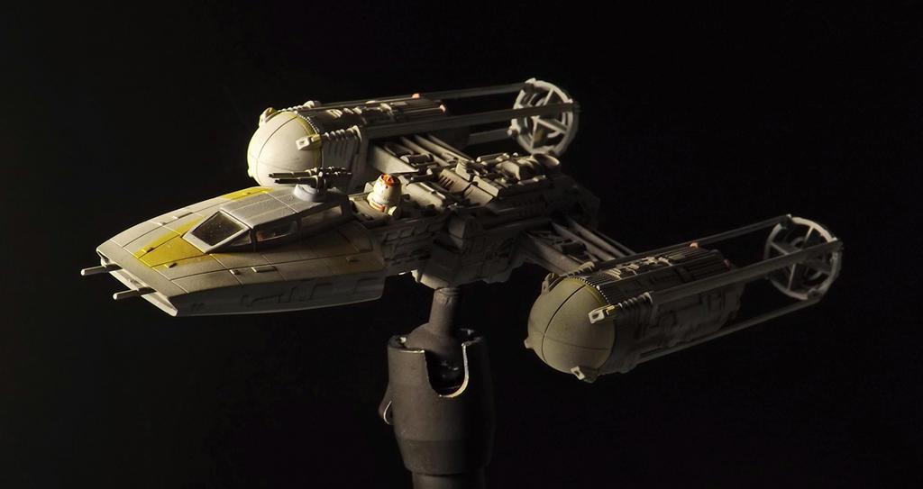 Y-Wing 1/72 Revell Model kit 2 by Hikaru84