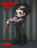 sweeney todd by melivillosa