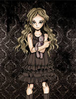 dark girl by melivillosa