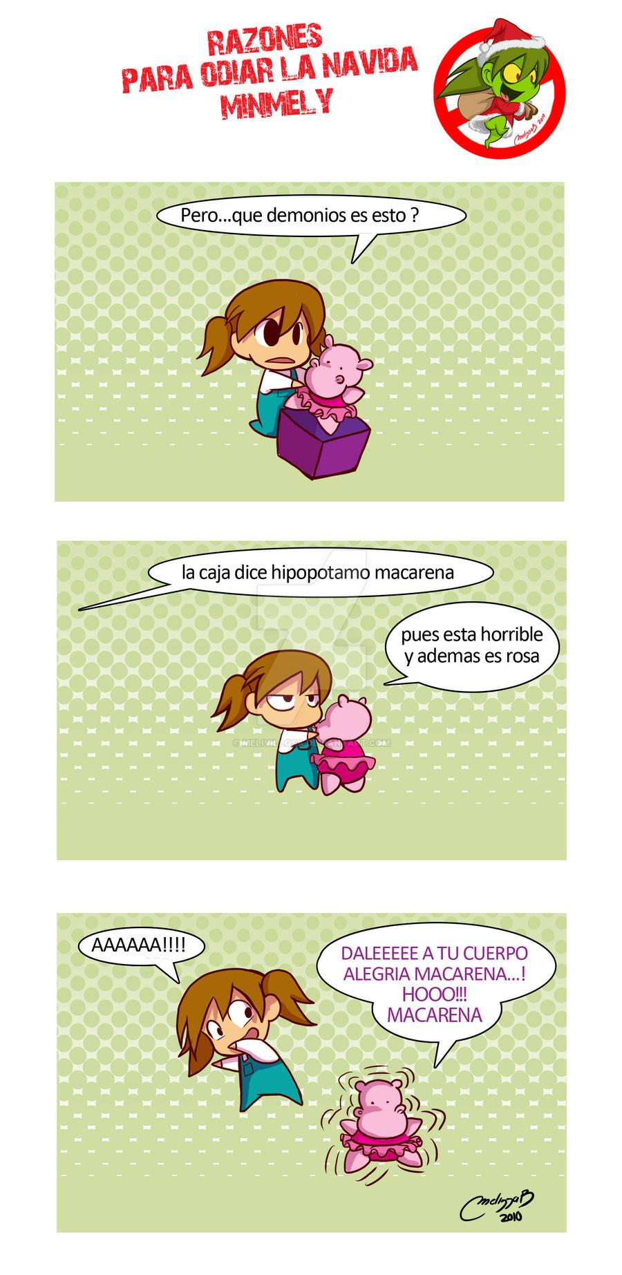 hipo macarena by melivillosa