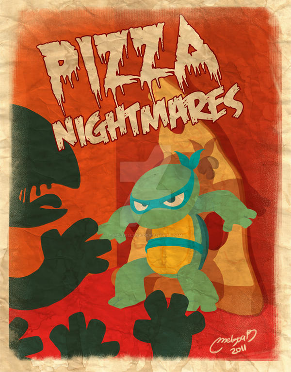 pizza nigthmares by melivillosa