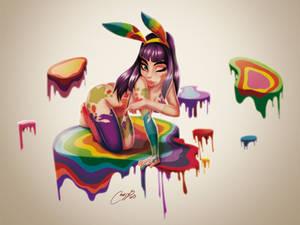 Paint plus Buny