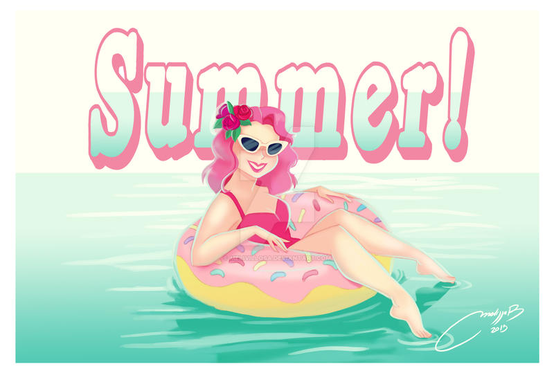 summer by melivillosa