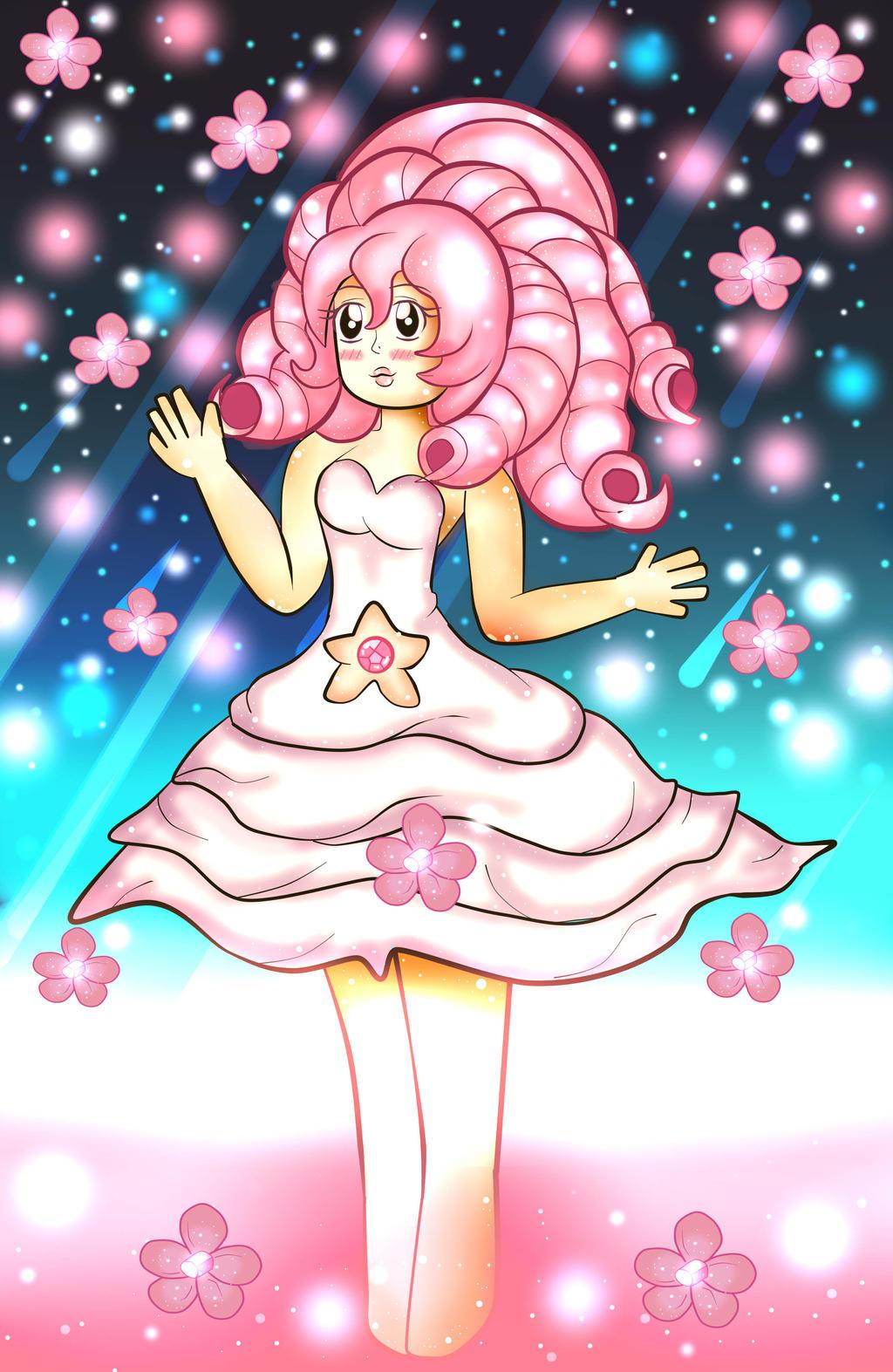 Rose quartz steven universe by alejandraquintero on deviantart - Rose quartz steven universe wallpaper ...