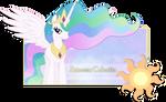 Firma de Princess Celestia