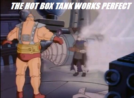 80's TMNT Meme - shredders hot box