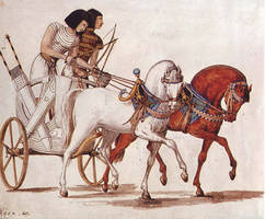 Ancient Egypt-Hunting or War Chariot by lichtie
