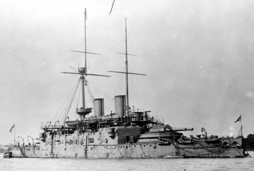 HMS Camperdown 1885 a by lichtie