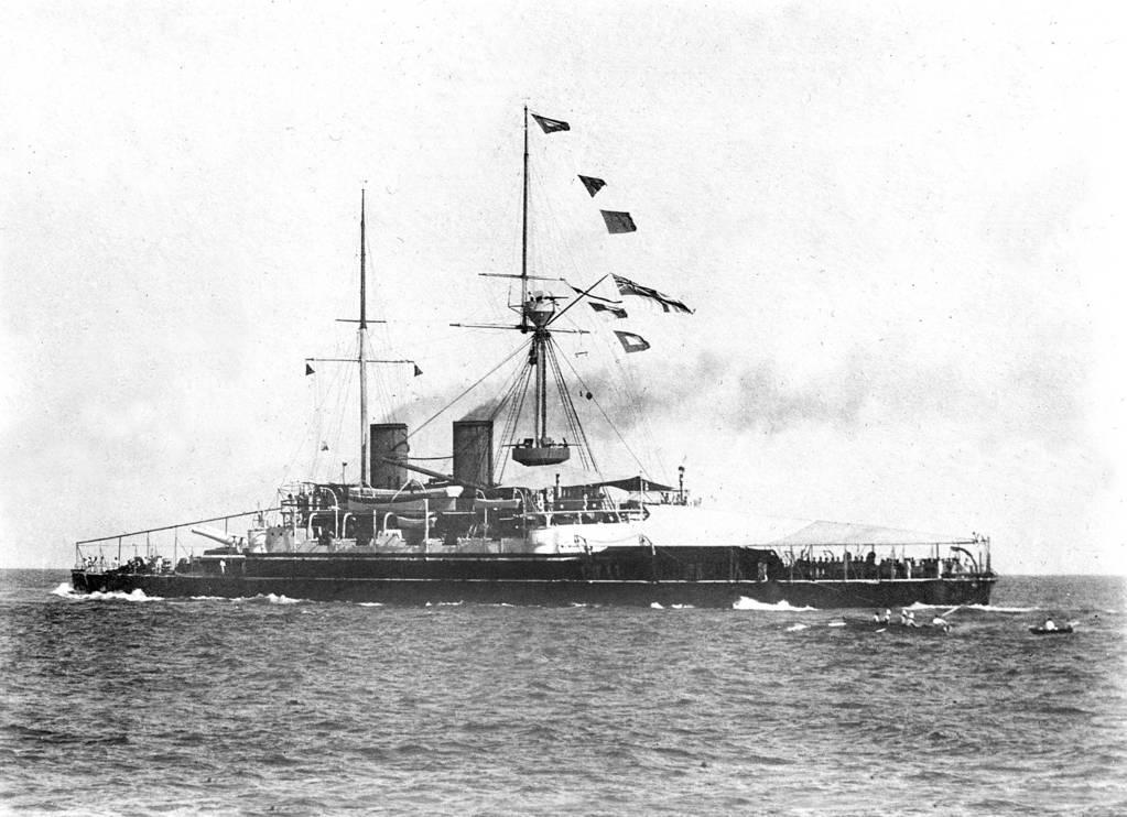 HMS Camperdown 1885 scrapped 1911 copy by lichtie