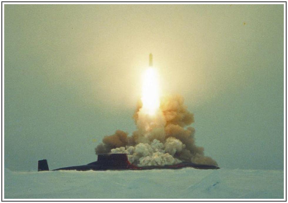 Y sevmash pr 941 missile launch North Pole 07 akul by lichtie