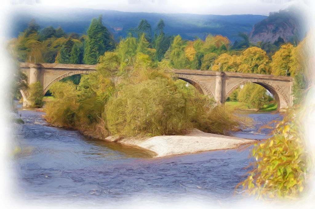 Bridge At Dunkeld-12oil by lichtie