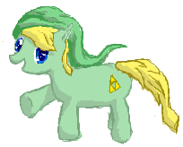 mlp:fim link, from zelda by thedbp