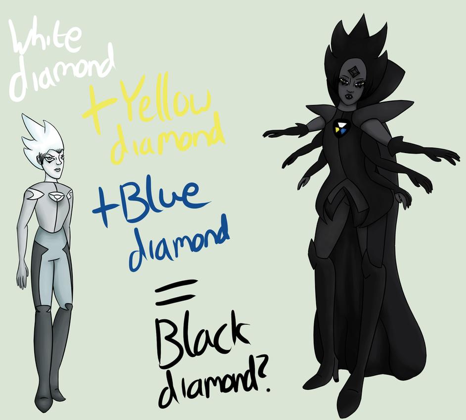 SU White Diamond + Black Diamond Fusion? by Halloween-Jester ... & SU: White Diamond + Black Diamond Fusion? by Halloween-Jester on ...