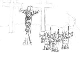 'Optimus Christ' by Eoja