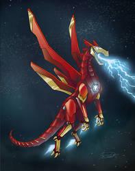 Iron Man Dragon