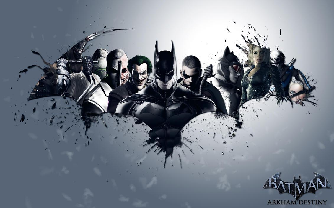 Batman Arkham Destiny by SnakeVersus1