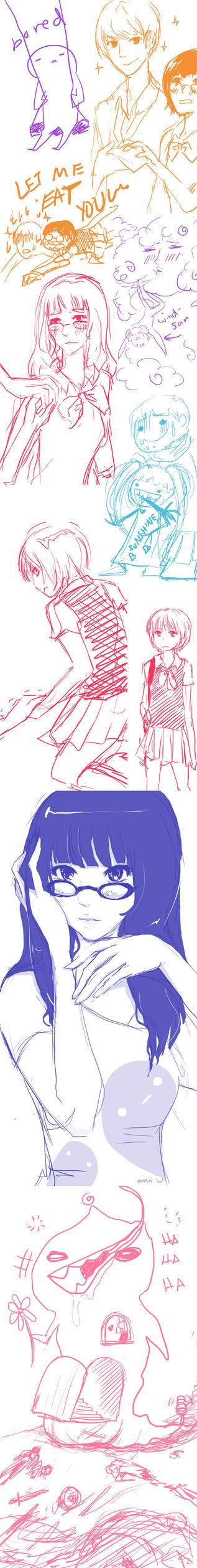 Art Dump by animezirow