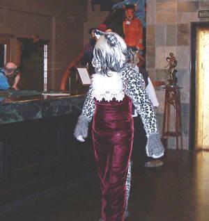 Velvet, On a 'Cat Walk'