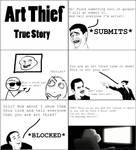 Rage Comic: Art Thief