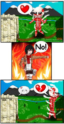 Attack On Titan Comic by ChavisO2