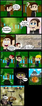Kingdom Hearts Remake Comic
